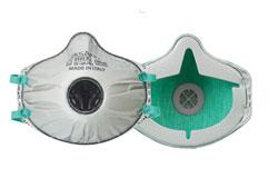 Feinstaubmaske FFP3 mit Ventil mit Aktivkohle  BLS