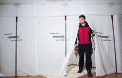 Staubschutzwand Kirchner