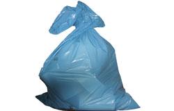 Abfallsäcke und Abfallbehälter