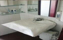 Waschtischschutz