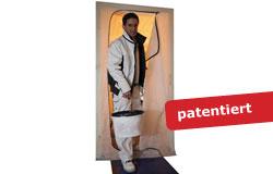 Staubschutztür DUO Vliesstoff - reißfest und durchfahrbar